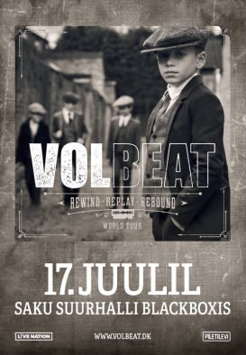 VOLBEAT - Rewind * Replay * Rebound Tour