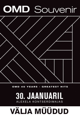 ORCHESTRAL MANOEUVRES IN THE DARK - Souvenir. OMD 40 Years. Greatest Hits