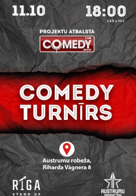 Riga Stand Up / COMEDY TURNĪRS